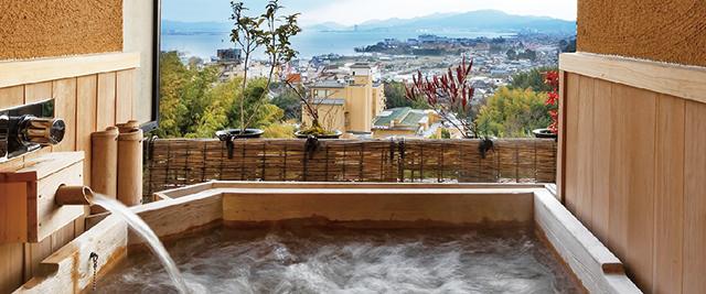 山野草風呂